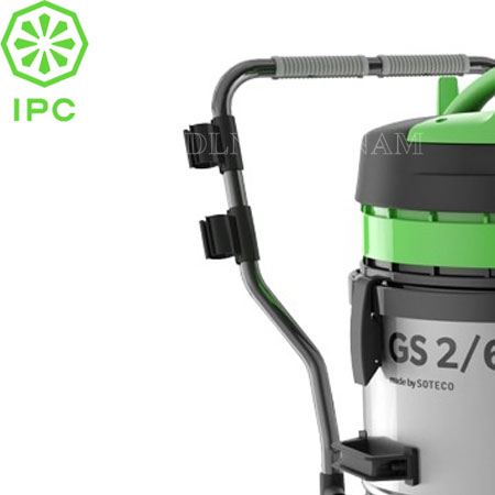 Máy hút bụi khô ướt IPC GS 2/62 W&D