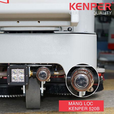 Máy chà sàn liên hợp ngồi lái Kenper RANGER 520B