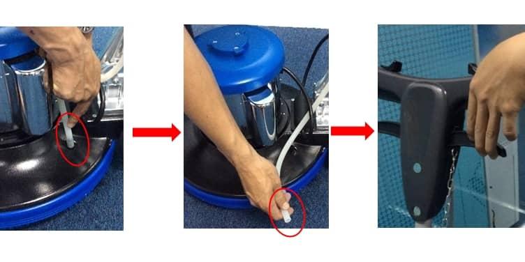 Hướng dẫn máy chà sàn đơn trong vệ sinh công nghiệp