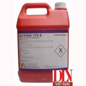 Hóa chất giặt thảm/ghế nỉ ít bọt Action 170s