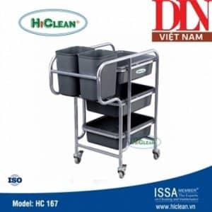 Xe đẩy phục vụ bàn HiClean HC167